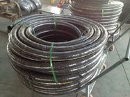 Rubber SAE 100 R6 Fuel Hose / Hydraulic Oil Delivery Hose Customized Size